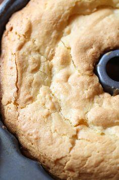 Coconut Cream Cheese Pound Cake