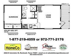 Athens Park Homes Model 401SDL