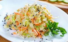 Salata de pui cu telina Tasty, Yummy Food, Tortillas, Chorizo, Cabbage, Dinner, Vegetables, Recipes, Projects