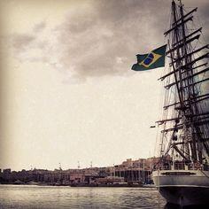 Il mondo entra sempre da un porto. #Cagliari città di #Mare uno dei principali approdi della #Sardegna