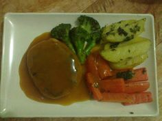 """Blackpaper """"Tempe"""" with Vegetables Grilled"""