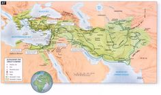 The Empire of Alexander the Great. This is what the kingdom of Greece would have looked like at the beginning of the Hellenistic Period.