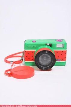 Cute Kawaii Stuff - Watermelon Camera'