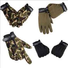 2018 New Tactical Outdoor Gloves - Hobistas - Outdoor Equipment & Accessories Tactical Gloves, Tactical Gear, Elastic Thread, Mens Gloves, Concealed Carry, Pairs, Brand New, Fashion Design, Outdoor