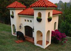 Extravagant Tuscan style #dog #house