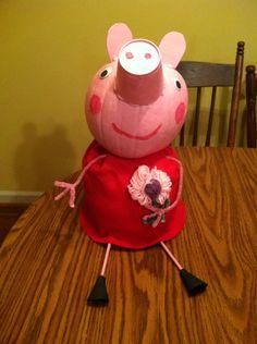 Peppa Pig pumpkin