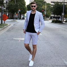 Fashion, mens fashion:__cat__ и casual wear for men. Mens Fashion Summer Outfits, Men Fashion Show, Mens Fashion Blog, Mens Fashion Suits, Casual Winter Outfits, Men's Fashion, Fashion Shorts, Casual Wear, Streetstyle Blogger