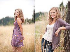 High School Senior girl - having different outfits that coordinate with each other will mean your photos will look good next to each other.