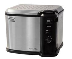 XL Indoor Electric Turkey Fryer 1650 Watts with Built-in Digital Cooking Timer