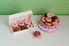 Miniature Donuts That I Sell On Etsy