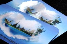 Spot UV Silkcards w/ Rounded Corners #travel #silkcards #spotUV #roundedcorners