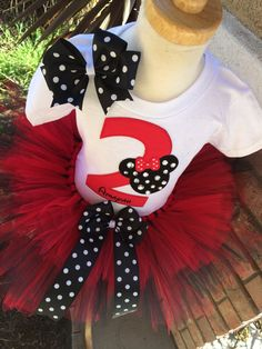 So Affordable Minnie Mouse Classic por BooBooKittyBirthdays en Etsy