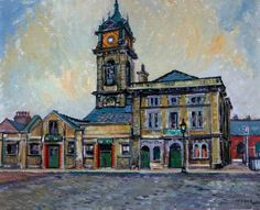 Middlesbrough Old Town Hall, St Hildas by Kenneth Cozens - part of the mima online collection - worth an explore.