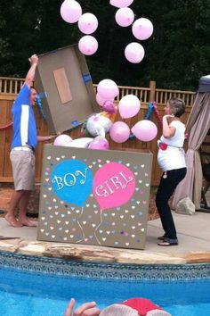 gender reveal party ideas surprise gender reveal party ideas surprise The post gender reveal party ideas surprise & Gender Reveal appeared first on Gender reveal ideas . Gender Reveal Games, Pregnancy Gender Reveal, Gender Reveal Balloons, Gender Reveal Decorations, Baby Gender Reveal Party, Gender Party, Gender Reveal For Siblings, Baby Announcement To Husband, Party Decoration