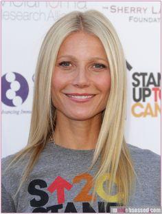 """Quando você vê a atriz Gwyneth Paltrow na TV, você pensa: """"como ..."""
