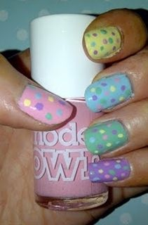 .Easy Easter Nails - Click image to find more nail art posts