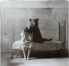 need to track down the photographer. Reminds me of some Russian circus photos that made the rounds a few years back