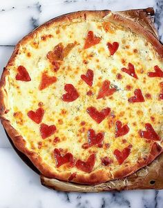 Looking for Valentine dinner recipes. Who says pizza isn't romantic? Get the recipe from Baker by Nature. I LOVE this idea :)