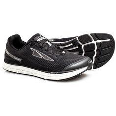 Altra Instinct 4.0 Men's Black Running 10 M ($120) ❤ liked on Polyvore featuring men's fashion, men's shoes, men's athletic shoes, black, mens shoes, mens mesh shoes, mens black running shoes, mens black shoes and mens black athletic shoes