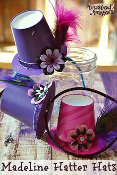 Ever After High: Spring Unsprung Viewing Party for Netflix and Madeline Hatter (Mad Hatter) Party Hat Craft Tutorial.