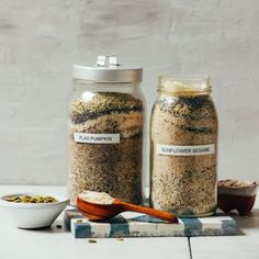 Seed Cycling Mixes (+ 10 Ways to Use Them) Healthy Food Alternatives, Healthy Recipes, Flex Seed, Healthy Fats, Healthy Eating, Seed Cycling, Cafeteria Food, Planning Budget, Menu Planning
