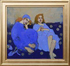 Milt Kobayashi - Contemporary Artist - Figurative Painting - Friends