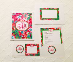 Lilly Sorority Recruitment Pack by CatherineAdamsDesign on Etsy