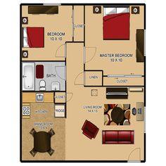 700 sq ft 2 bedroom floor plan 600 sq ft floor plan teeny tiny homes house plans house - 500 sq ft apartment floor plan ...