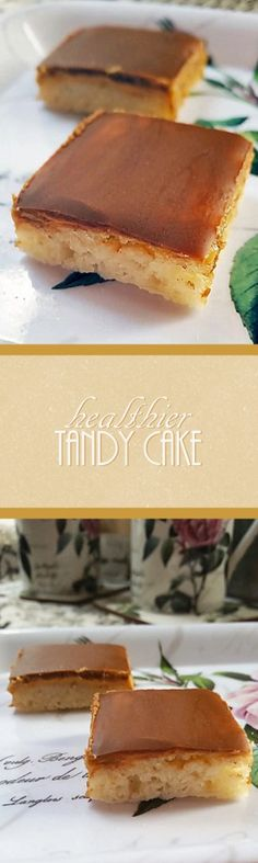Spongy cake. Creamy peanut butter. Rich, yummy chocolate. Who knew you could make a healthier version of Tandy Cake that still tastes amazing?