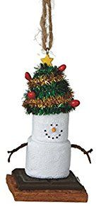 Amazon.com: Midwest S'mores Tree Hat Christmas Ornament: Home & Kitchen