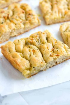Easy Focaccia Bread Recipe with Garlic and Herbs