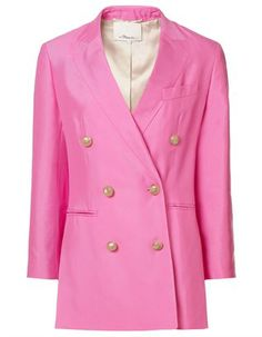 Peony Double Breasted Jacket, 3.1 Phillip Lim