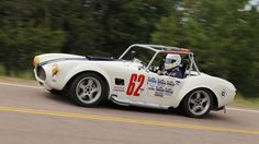 Pikes Peak International Hill Climb -Ed Gaven in 2003 Challenge Series Race Factory Five Cobra. PHOTO BY MURILEE MARTIN