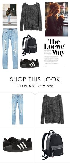 """Untitled #187"" by camila1970 ❤ liked on Polyvore featuring AMIRI, Gap, adidas, NIKE and Loewe"