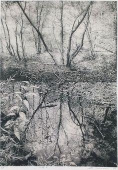 TAKASE Motohiko Water    2011    etching on gampi
