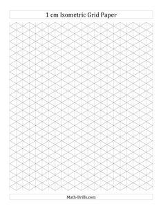 Printable isometric paper …