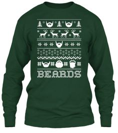 Beards Ugly Sweater | Teespring