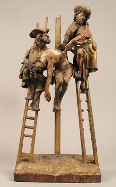 Descent from the Cross, Medieval Art Medium: Oak, polychromy and gilding Rogers Fund, 1906 Metropolitan Museum of Art, New York, NY