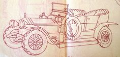 Milk and Honey Quilts: Tuesdays Tomes: Free Air by Sinclair Lewis Plus iron-on transfer patterns of vintage cars