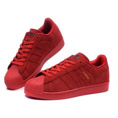 Adidas Superstar -- Rojo