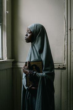 Portrait Studies: Fatima and Amina   Muslim Woman in Hijab