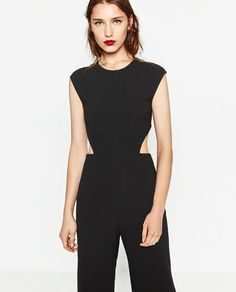 Image 5 of CROPPED JUMPSUIT from Zara