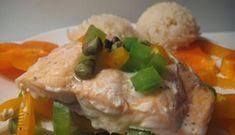 Saumon en papillote #poisson #recette