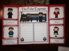 The Polar Express Flip Book