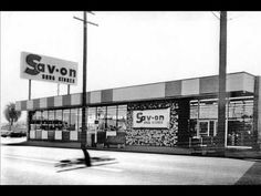 ▶ Sav-On Drug Stores Radio Jingle - YouTube - This is a Sav-On Drug Store exactly like the one we had in Canoga Park, CA when I was growing up in the early 1960s. They sold candy bars for three for a dime and BIG scoops of ice cream with more flavors than Baskin-Robbins for a nickel a scoop and you could buy triple scoop cones!