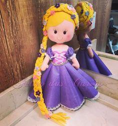 As demais princesas que me desculpem, mas a Rapunzel é a minha preferida!!! #festaprincesas #festarapunzel #festaenrolados