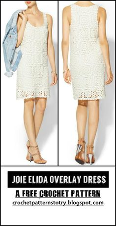 Crochet Joie Elida Overlay Dress - 110+ Free Crochet Patterns for Summer and Spring - Page 7 of 12 - DIY & Crafts