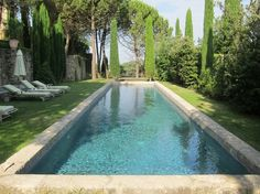 Swimming Pool Garden Design - A swimming pool isn't just a water in a concrete vessel or whatever material found in your home. French Pool, Pool Landscape Design, Modern Pools, Luxury Pools, Beautiful Pools, Swimming Pool Designs, Garden Pool, Cool Pools, Pool Landscaping