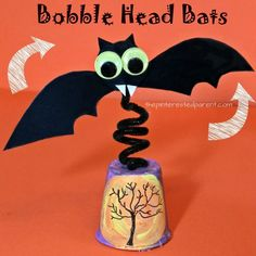 bobble head fun bat craft
