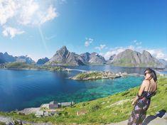 #PinpointTravel #Sakrisøy #Lofoten #Norway #Mountain #summer #AdventureTravel #Travel #nature #holiday #arctic #TravelAgency #TravelDestinations #TravelItinerary #TravelGuides #Destinations Arlene Foster, Lofoten, Archipelago, Arctic, The Fosters, Norway, Scenery, Destinations, Photo And Video
